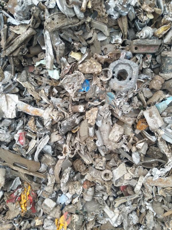 长期大量供应 破碎铝 破碎不锈钢 破碎锌 铜铝锌混合料
