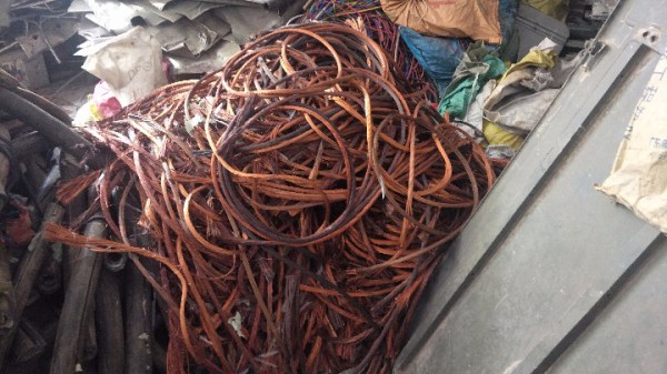 清远顺景金属高价回收废旧电缆
