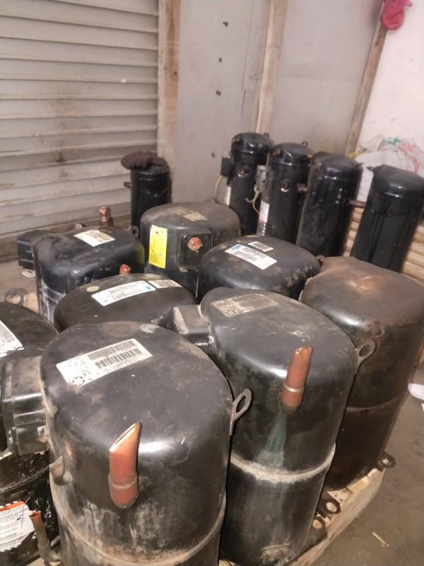 長期收購二手空調壓縮機