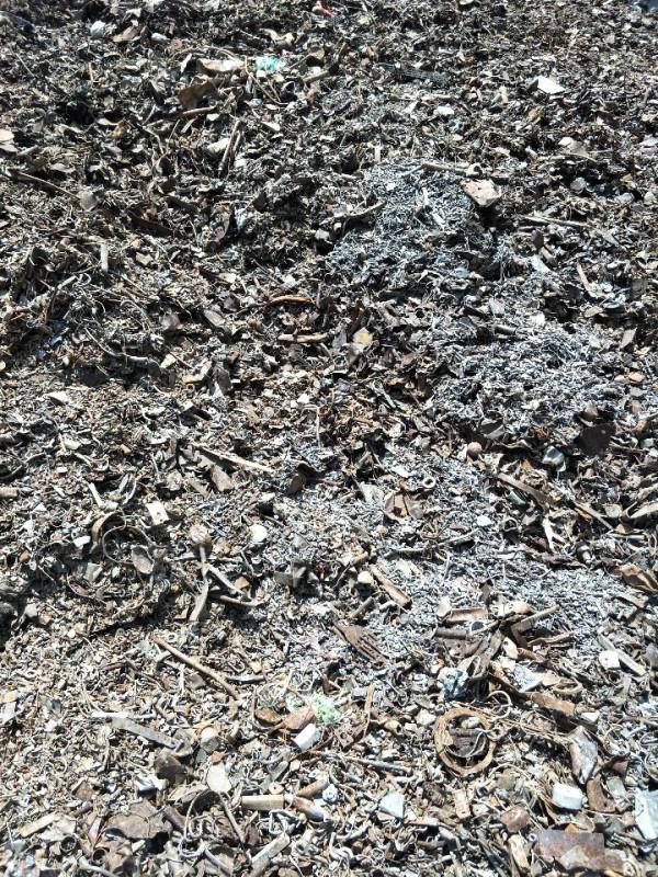 大量回收火烧钢。