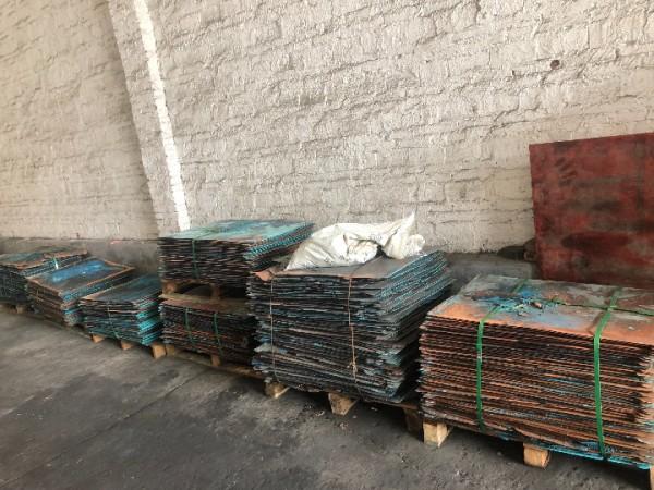 铜箔,硫酸铜板()